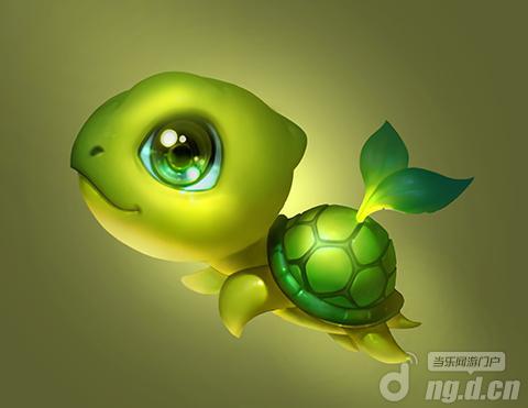乌龟小萌图片大全可爱