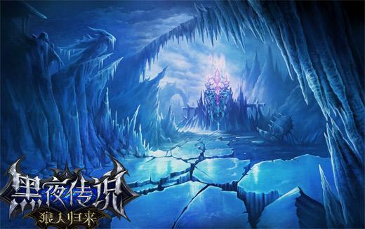 黑夜森林童话背景